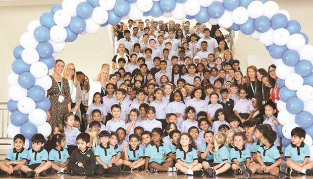 Compass International School Doha – Themaid Campus opening.