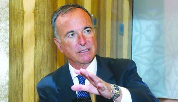 Sport Integrity Global Alliance chairman Franco Frattini. PICTURE: Jayaram.
