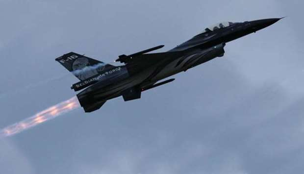 Pilot saved from power line after Belgian F-16 crashes in France