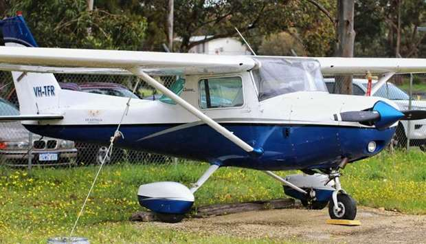 The Cessna aircraft landed safely at Jandakot Airport