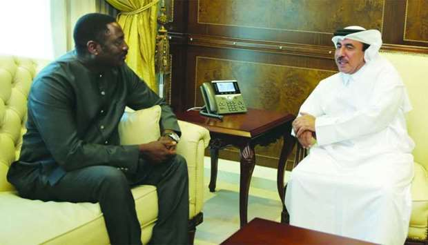 Transport Minister meets Gambia leader