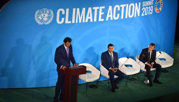 Amir pledges $100mn to combat climate change