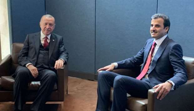 Amir meets Turkish president