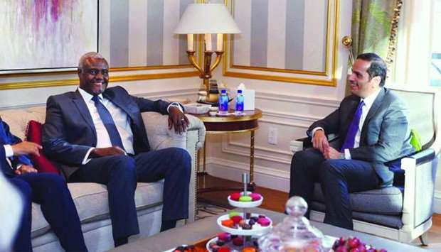 Foreign Minister meets AUC chairperson
