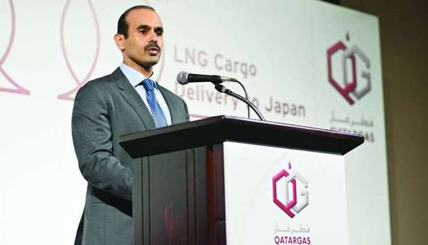 HE the Minister of State for Energy Affairs Saad bin Sherida al-Kaabi.