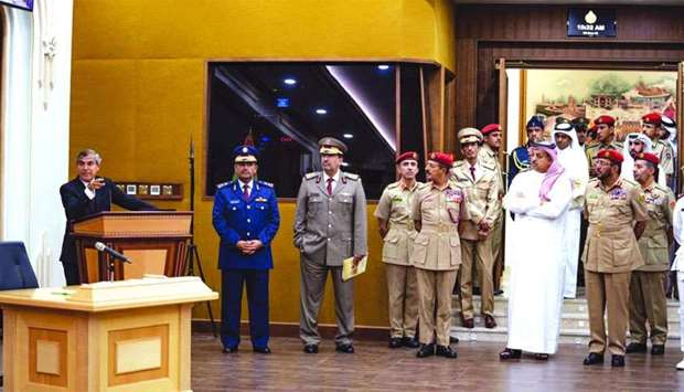 Deputy PM visits Military Museum, National Defense College in Oman