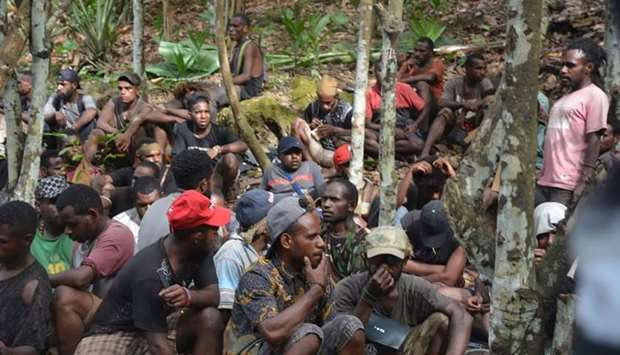 A group of Papuans, who took part in recent mass protests and currently seeking military's help to r