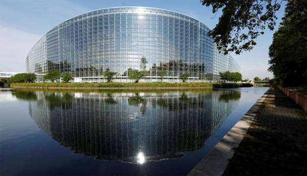 The building of the European Parliament is seen in Strasbourg, France