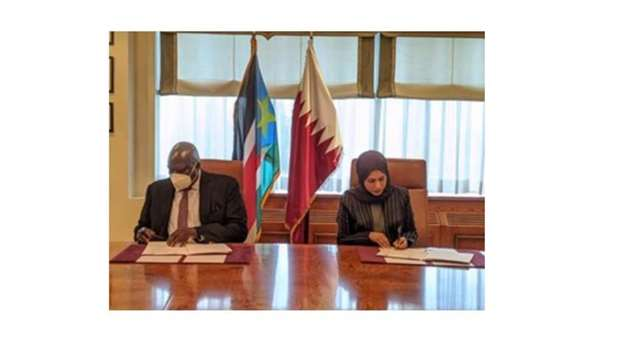 The two sides affirmed their desire to strengthen and develop friendly relations and co-operation.