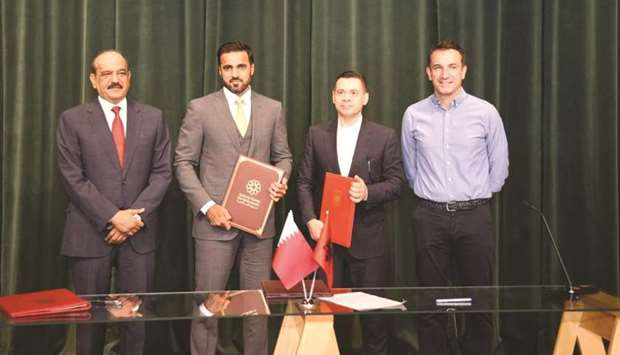 Qatar funds reconstruction of educational facilities in Albania