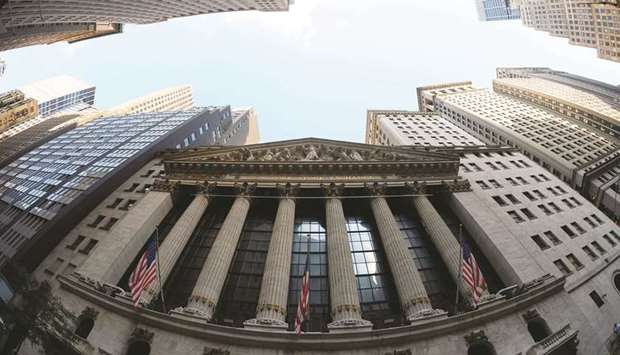 An external view of the New York Stock Exchange. Investors are shifting their focus to the Federal R