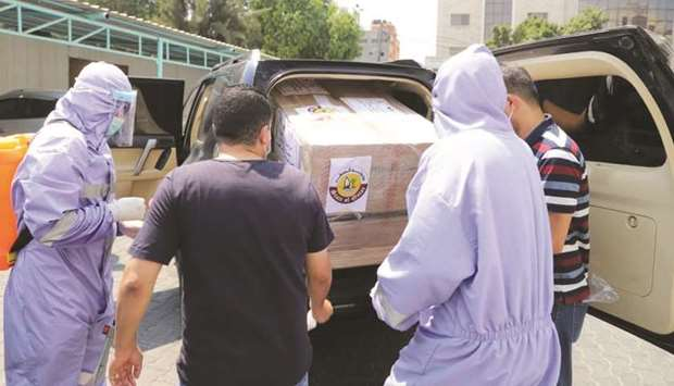 Qatar committee supports health sector in Gaza