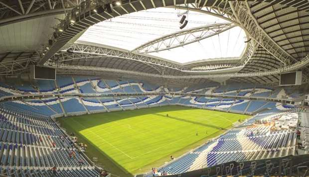 Qatar 2022 stadiums host 2020 AFC Champions League matches