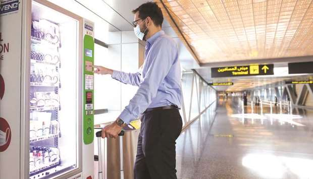 HIA has installed vending machines with PPE across key passenger touchpoints, as part of the prevent