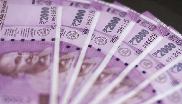 The rupee strengthened by 21 paise to close at 73.45 against the US dollar yesterday as weak US curr