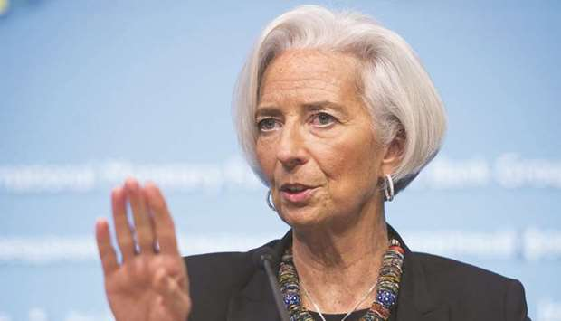 Christine Lagarde, the first female chief in the ECB's history, laments that the 19 eurozone central