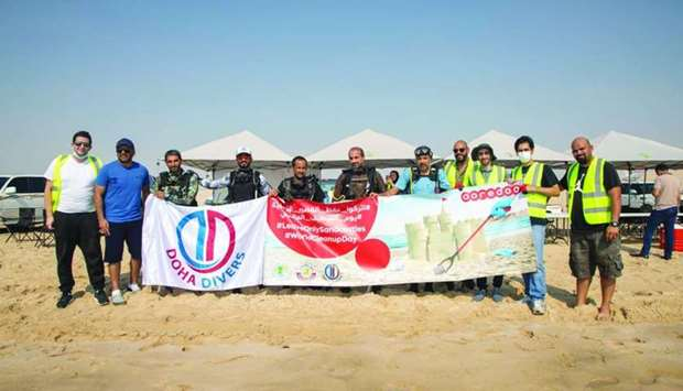 Ooredoo holds '3rd Beach Clean-up' event