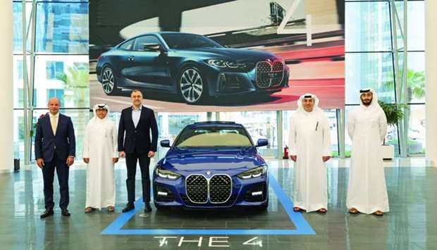 The new BMW 4 Series, 5 Series, 6 GT and M5 unveiled for the first time in Qatar.