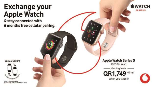 Vodafone offers unique Apple Watch trade-in plan
