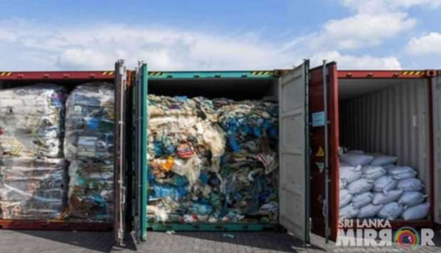 Sri Lanka returns containers of illegal waste to Britain
