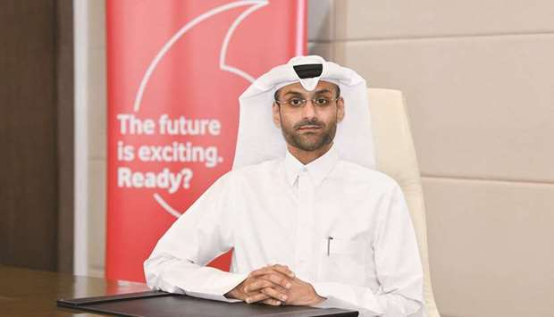 Vodafone Qatar's chief human resources officer, Khames Mohamed al-Naimi.
