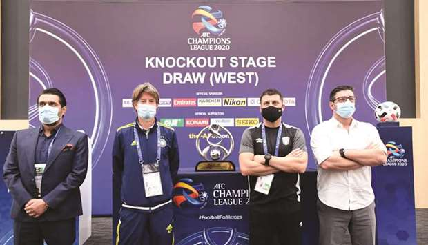 The draw for the quarter-finals in the AFC Champions League West were held yesterday.