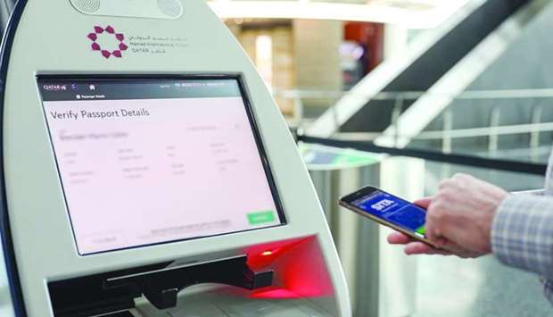 Hamad International Airport (HIA) has launched its trial phase of testing 'happyhover' and SITA Mobi