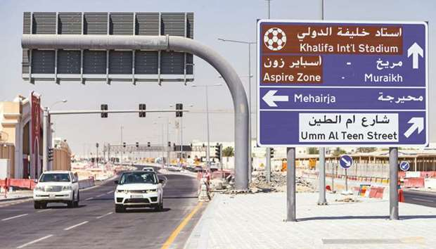 Al Khufoos Street will provide a direct traffic movement from Doha Expressway