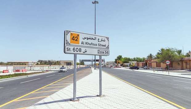 Al Khufoos Street serves many educational institutions along with commercial and sport facilities