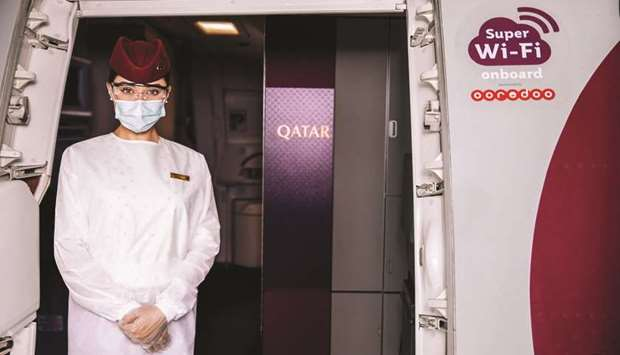 Qatar Airways now offers largest number of aircraft in Asia equipped with high-speed broadband