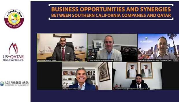 Key speakers of the virtual discussion titled 'Business Synergies and Opportunities Between Southern