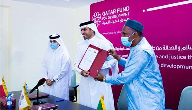 Qatar enters pact with Mali to support Malian children's access to education