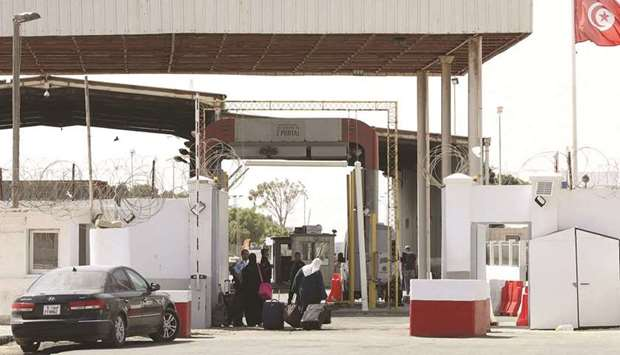 Libya-Tunisia border reopens after 2 months