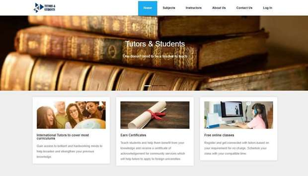 Doha student's website gives free access education