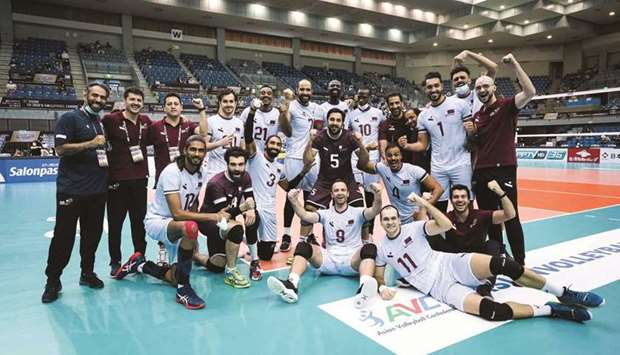 Qatar ended their campaign at the 21st Asian Volleyball Championship in Japan with a creditable fift
