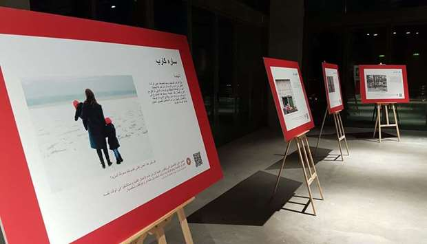 Photo exhibition by Swiss embassy