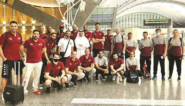 Qatar's volleyball team finished fifth in the recently-concluded Asian championships in Japan.