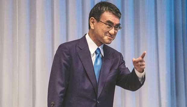 Taro Kono has long championed more renewable supplies in Japan's roughly $150bn electricity sector,