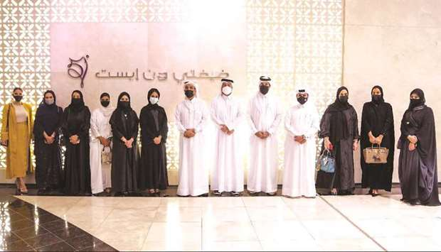 The exhibition, which runs until October 2, highlights innovative made-in-Qatar designs by young men