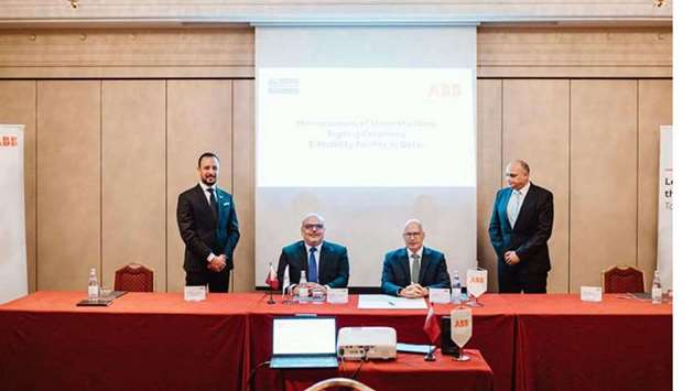 Ashghal, ABB team up to build middle east's first E-mobility factory