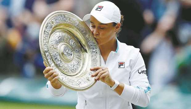 World number one Ash Barty