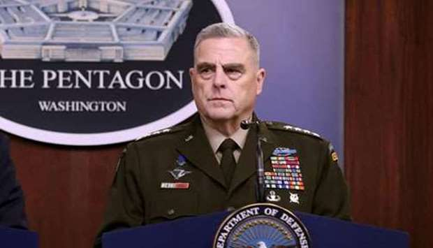 General Mark Milley, the top US military officer