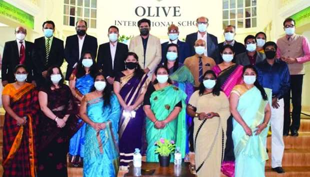 Olive International School (OIS) celebrated its seventh anniversary that coincided with the Teachers