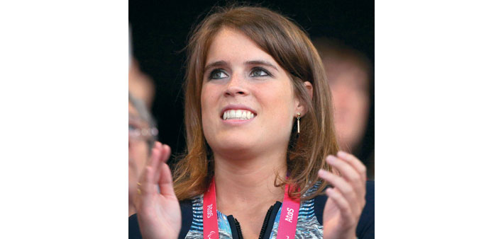Princess Beatrice: Inspired by Harry Potter.