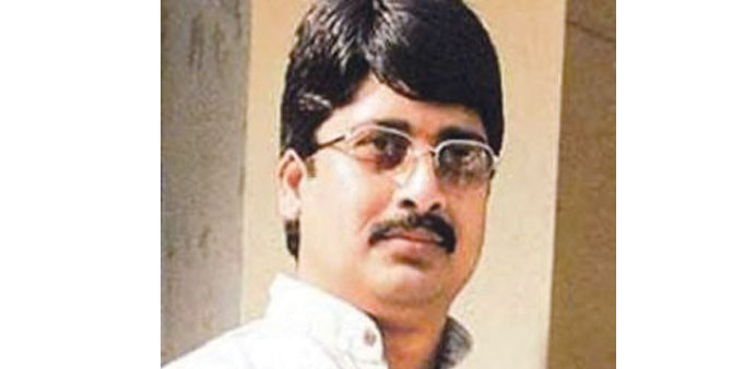 Raja Bhaiya: faces imminent arrest.