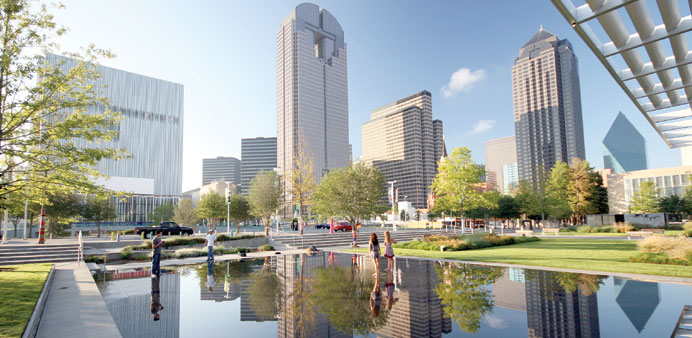 This section of Dallas is devoted to museums and the performing arts.