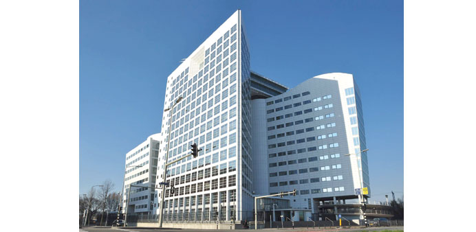 The main International Criminal Court building in The Hague.