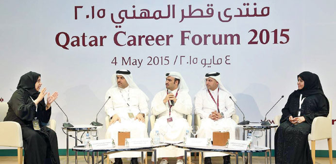 Participants in one of the sessions at the forum.