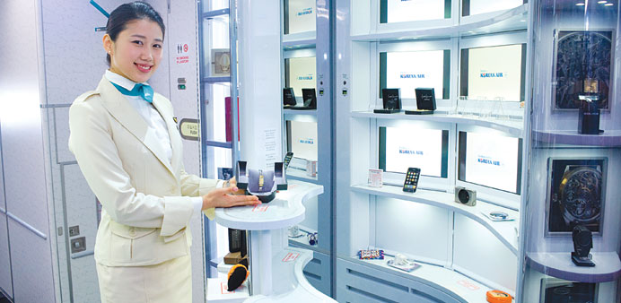 Korean Air takes onboard retailing to new heights