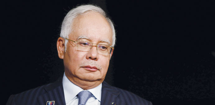 Malaysia's Najib questioned over French submarine deal